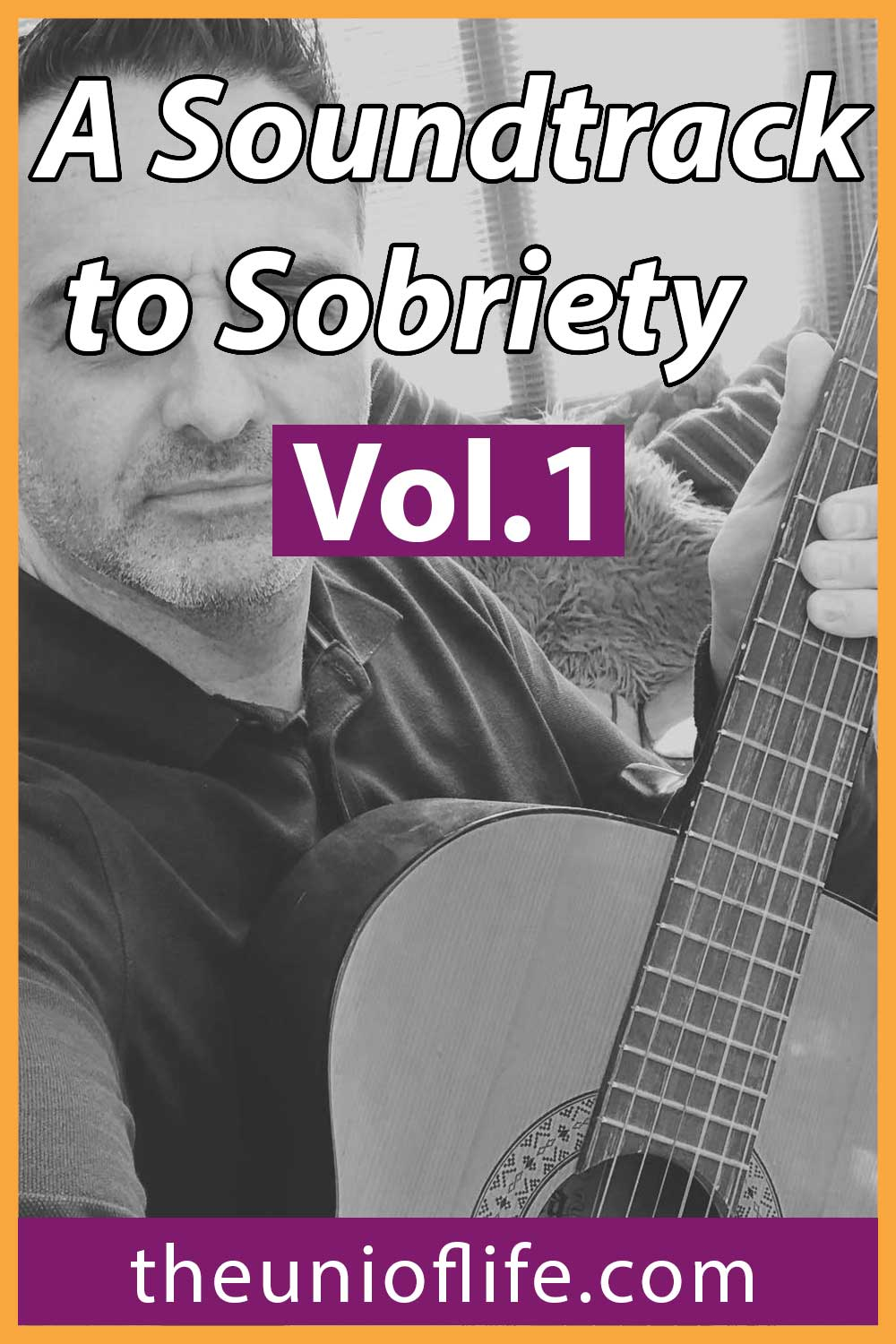 A Soundtrack to Sobriety - Motivational Sobriety Songs Pin