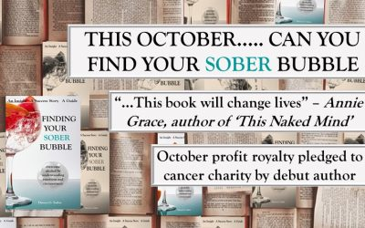 2 Reasons I'm Donating Profits from 'Finding Your Sober Bubble' to Charity during Sober October
